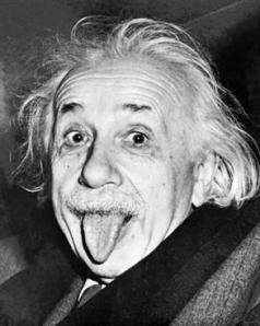 אינשטיין. סביר ברמה הסטטיסטית